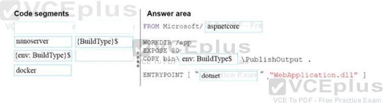How should you complete the code? - VCEguide com